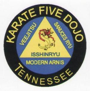 Karate Five Military Arnis Patch